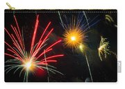 Cosmos Fireworks Carry-all Pouch by Inge Johnsson