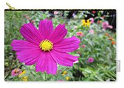 Cosmos In The Wild Garden Carry-all Pouch