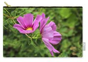 Cosmos Tickles Me Pink - Cosmos Caudatus Carry-all Pouch
