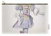 Costume Design For Geometry In A 17th Carry-all Pouch