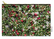 Cotoneaster Bush Background Carry-all Pouch