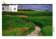 Cottage Among The Dunes Carry-all Pouch by Edward Fielding