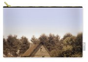 Cottage And Splitrail Fence Carry-all Pouch