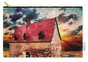 Cottage By The Sea - Abstract Realism Carry-all Pouch