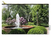 Cottage Garden Fountain Carry-all Pouch