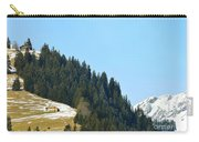 Cottage In Alps Carry-all Pouch
