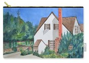 Cottage On A Hill Carry-all Pouch
