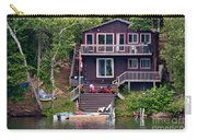 Cottage On The Water Carry-all Pouch