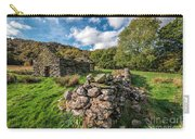 Cottage Ruin Carry-all Pouch by Adrian Evans