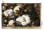 Cotton Bolls Ready For Harvest Carry-all Pouch