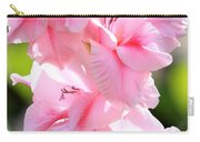 Cotton Candy Gladiolus Carry-all Pouch