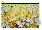Cotton Fields Back Home Carry-all Pouch by Eloise Schneider