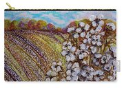 Cotton Fields In Autumn Carry-all Pouch by Eloise Schneider