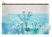 Cotton Poppies Carry-all Pouch