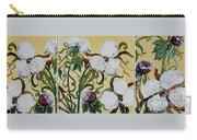 Cotton Triptych Carry-all Pouch by Eloise Schneider