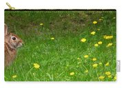 Cottontail Rabbit Carry-all Pouch