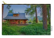 Cottonwood Cottage At Sunset Carry-all Pouch
