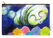Cloud Flowers Carry-all Pouch