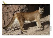 Cougar Aka Mountain Lion Carry-all Pouch