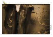Count Dracula In Sepia Carry-all Pouch