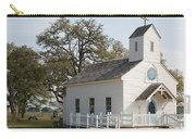 Round Top Texas Country Church Carry-all Pouch