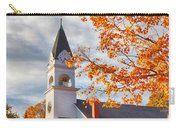 Country Church Under Fall Colors Carry-all Pouch