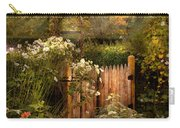 Country - Country Autumn Garden  Carry-all Pouch by Mike Savad