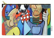 Country Cubism Carry-all Pouch