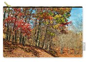 Country Curves And Vultures Carry-all Pouch