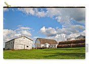 Country Farm Carry-all Pouch by Frozen in Time Fine Art Photography