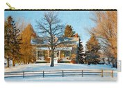 Country Home Impasto Carry-all Pouch