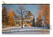 Country Home Oil Carry-all Pouch