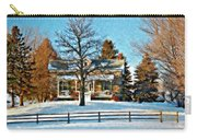 Country Home Watercolor Carry-all Pouch