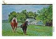 Country Horses Carry-all Pouch