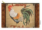 Country Kitchen Rooster Carry-all Pouch