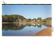 Country Lake Scene Carry-all Pouch