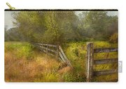 Country - Landscape - Lazy Meadows Carry-all Pouch by Mike Savad