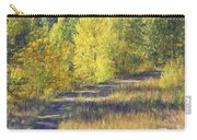 Country Lane Digital Oil Painting Carry-all Pouch