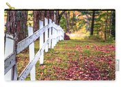 Country Lane Fall Foliage Vermont Carry-all Pouch