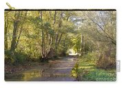 Country Lane In Autumn 3 Carry-all Pouch
