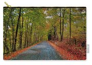 Country Lane In Autumn Carry-all Pouch