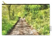 Country Lane Watercolour Carry-all Pouch