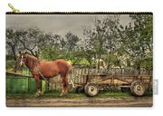 Country Life Carry-all Pouch by Evelina Kremsdorf