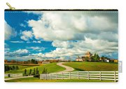 Country Living Painted Carry-all Pouch