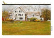 Country Moments-farmhouse In Woodstock Vermont Carry-all Pouch