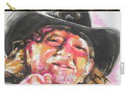 Country Music Artist...willie Nelson Carry-all Pouch