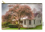 Country Pink Carry-all Pouch by Debra and Dave Vanderlaan