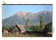 Country Ranch In Mountains Carry-all Pouch