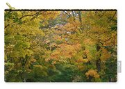 Country Road Fall Vermont Carry-all Pouch