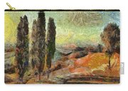 A Sunset In Tuscany Carry-all Pouch